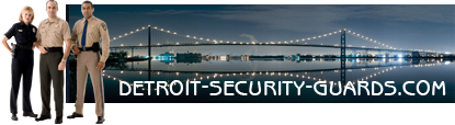 Detroit Security Guard Logo